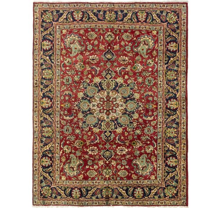 205cm x 277cm Tabriz Persian Rug