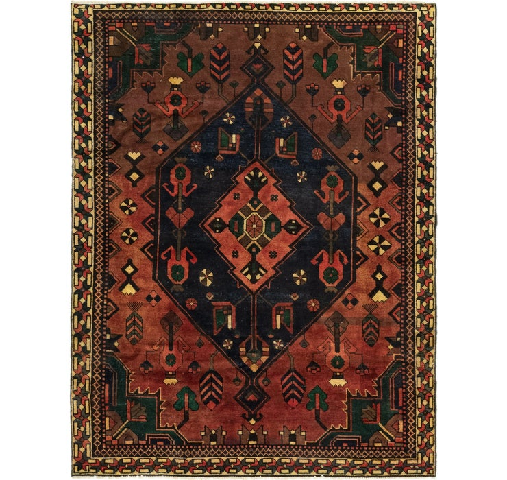 147cm x 195cm Bakhtiar Persian Rug