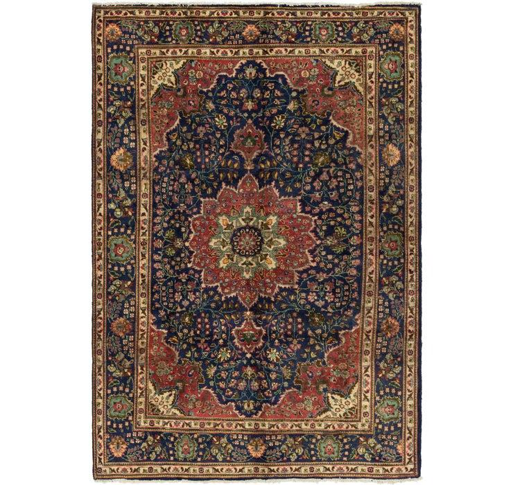 208cm x 310cm Tabriz Persian Rug