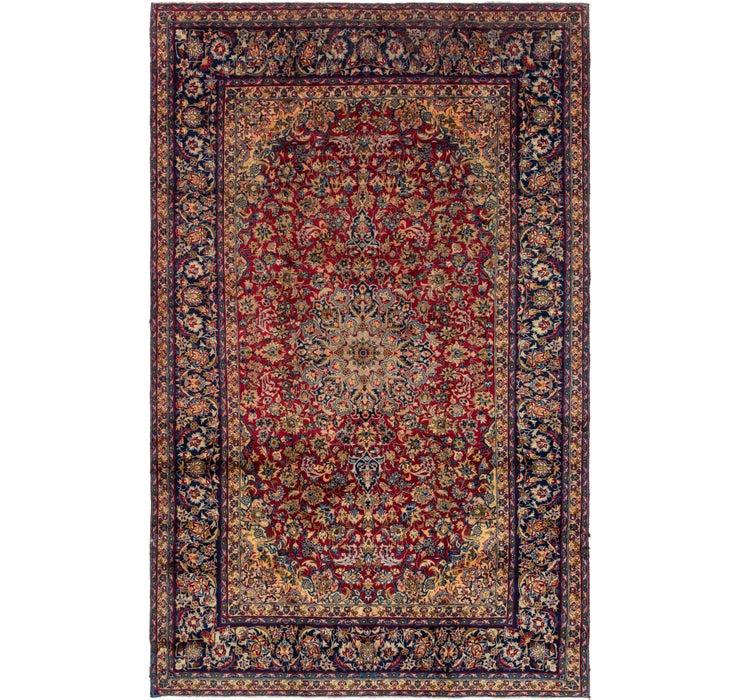 9' 6 x 14' 8 Isfahan Persian Rug