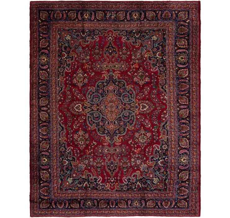 305cm x 365cm Mashad Persian Rug