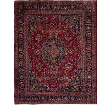 Image of 10' x 12' Mashad Persian Rug