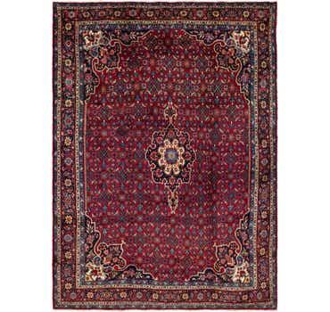 Image of 9' 3 x 12' 8 Hamedan Persian Rug