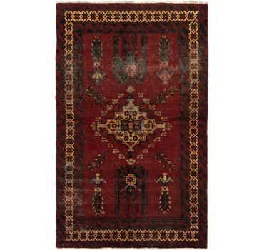 3' 9 x 6' 2 Ferdos Persian Rug