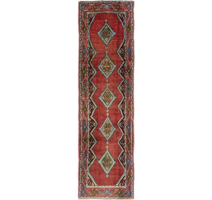 2' 6 x 9' 6 Chenar Persian Runner Rug