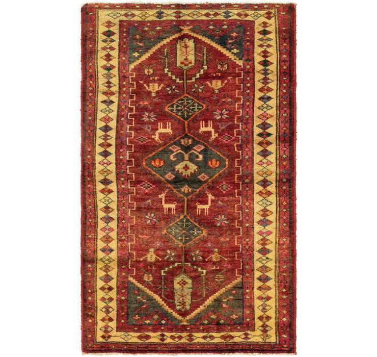 122cm x 213cm Shiraz-Lori Persian Rug