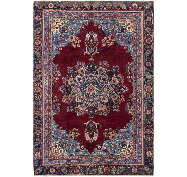 5' 1 x 8' 5 Mashad Persian Rug