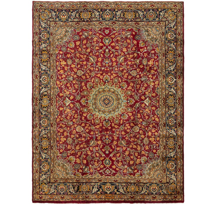 297cm x 400cm Mashad Persian Rug