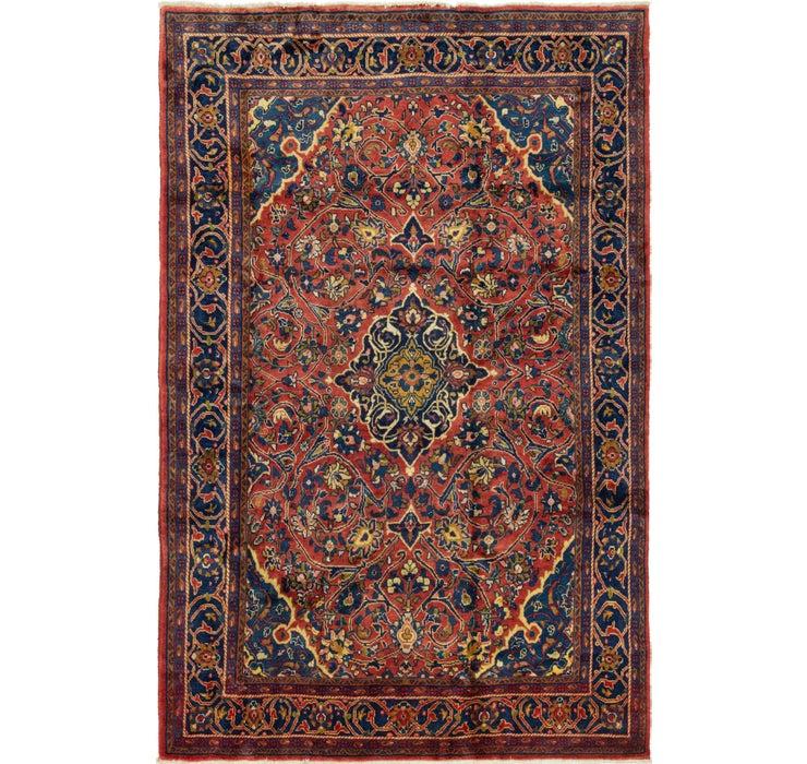 218cm x 325cm Golpayegan Persian Rug