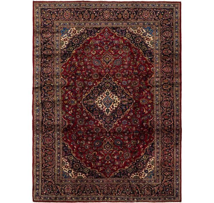 9' 7 x 12' 9 Kashan Persian Rug