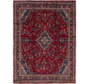 10' x 13' 4 Hamedan Persian Rug main image