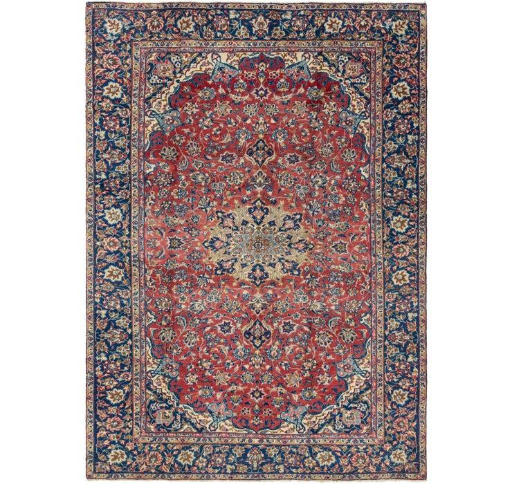 245cm x 348cm Isfahan Persian Rug