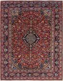 290cm x 390cm Mashad Persian Rug thumbnail image 1