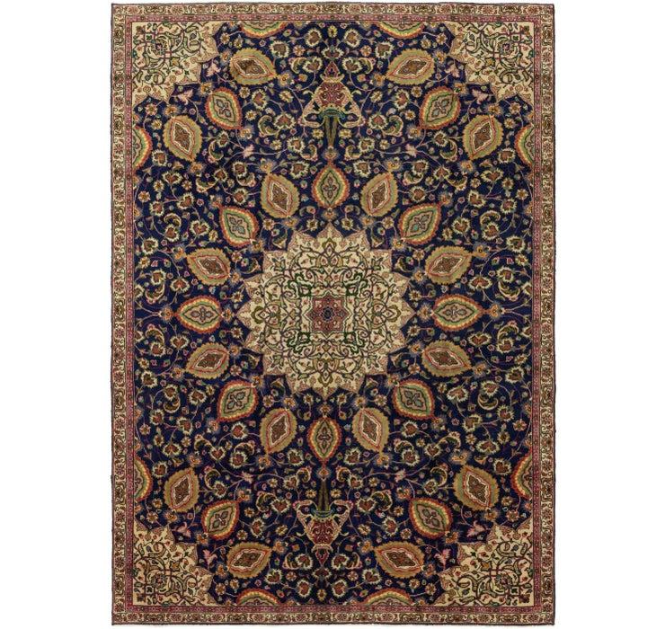 225cm x 328cm Tabriz Persian Rug