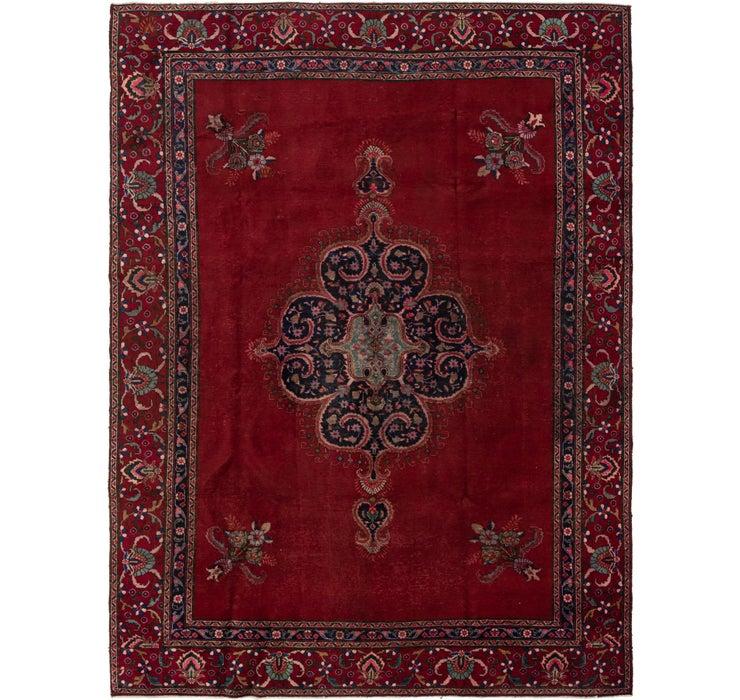 270cm x 368cm Tabriz Persian Rug