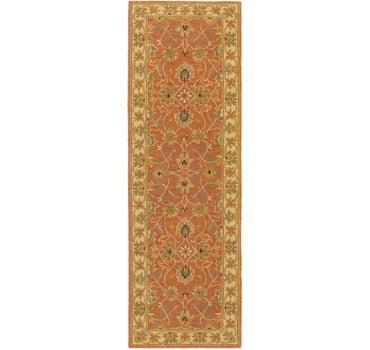 2' 4 x 8' Classic Agra Runner Rug main image