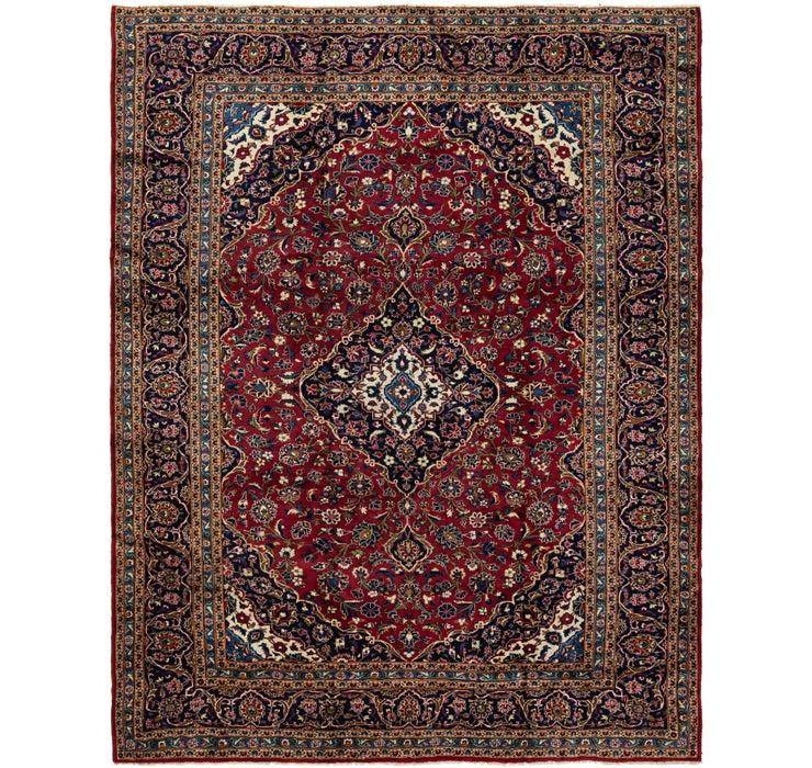 9' 10 x 12' 8 Kashan Persian Rug