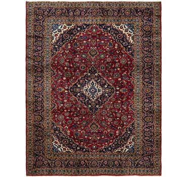 Image of 9' 10 x 12' 8 Kashan Persian Rug
