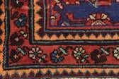 110cm x 420cm Hossainabad Persian Runner Rug thumbnail