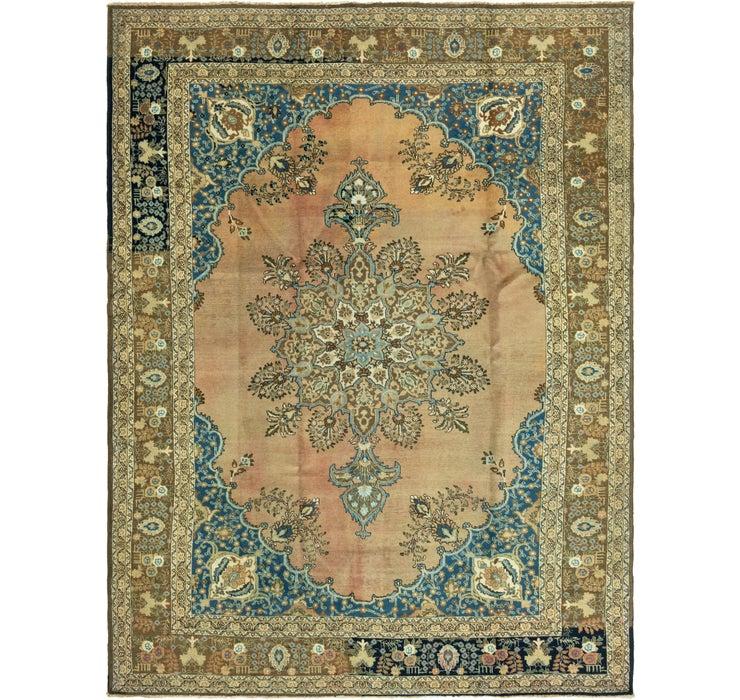 270cm x 370cm Tabriz Persian Rug