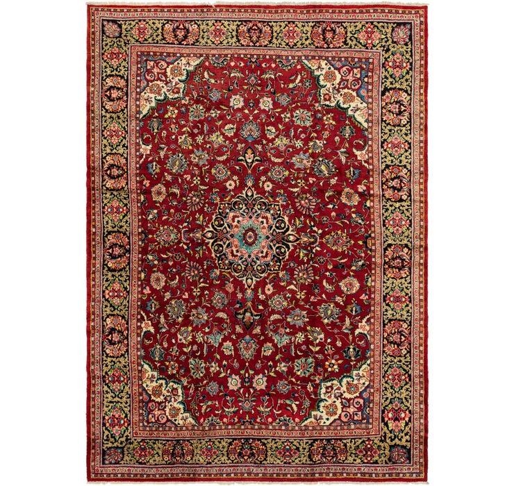 312cm x 442cm Meshkabad Persian Rug