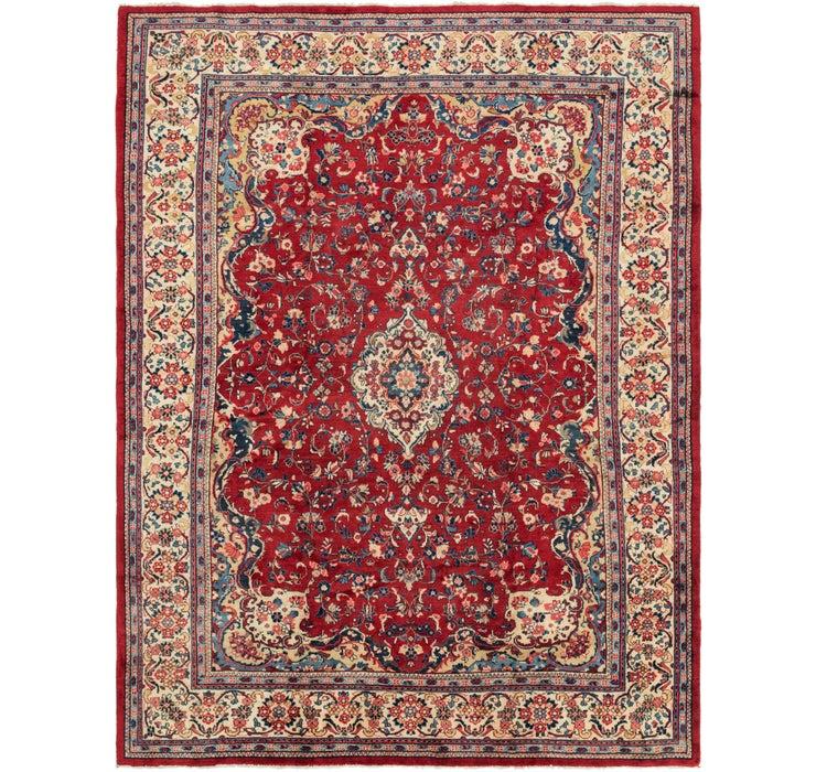 10' x 13' 4 Meshkabad Persian Rug