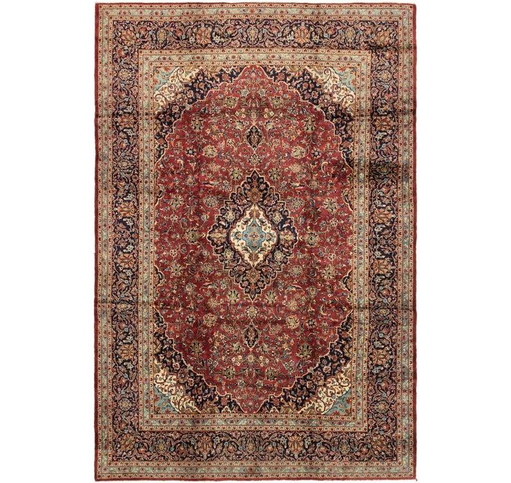 9' 8 x 14' 6 Kashan Persian Rug