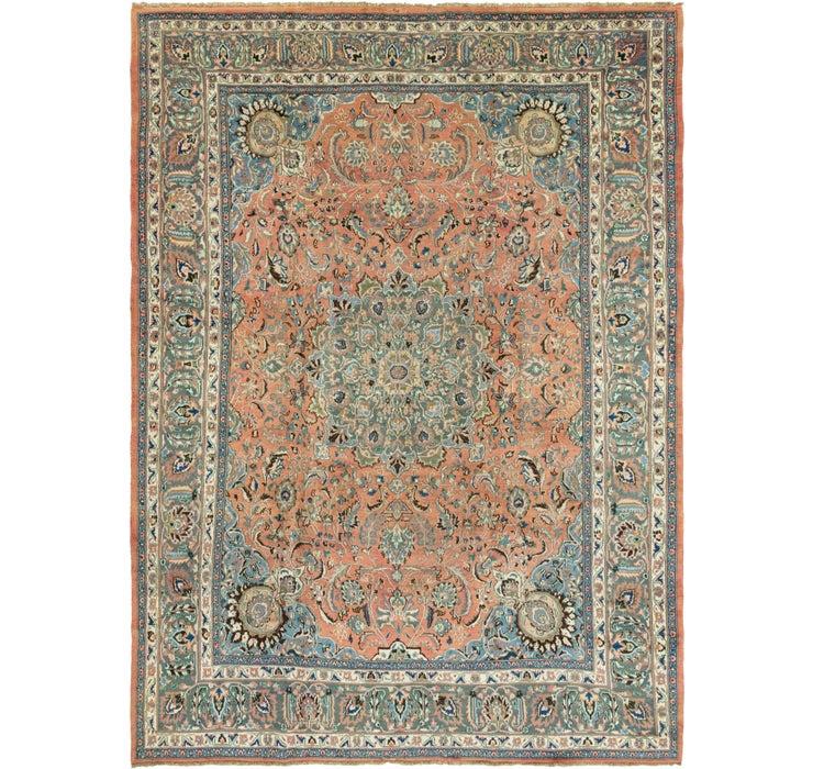 287cm x 385cm Mashad Persian Rug