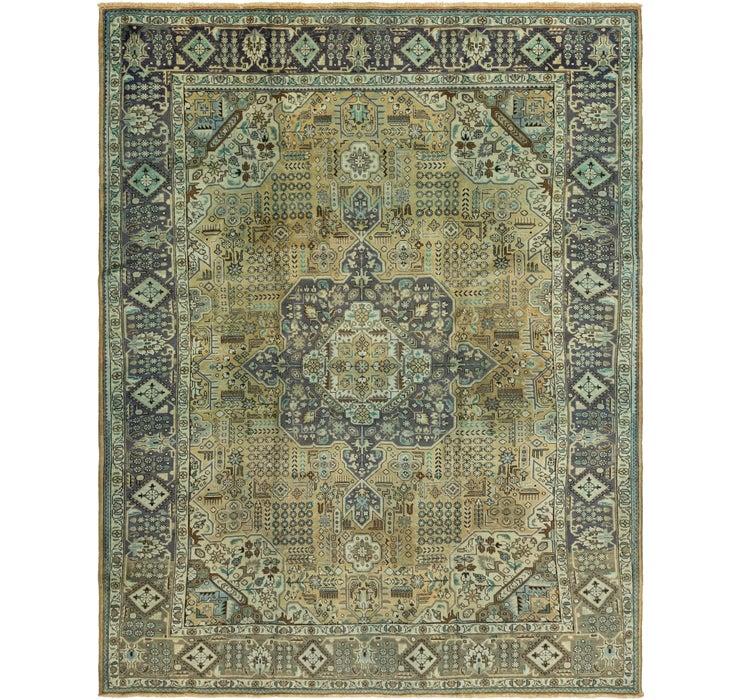 310cm x 385cm Tabriz Persian Rug