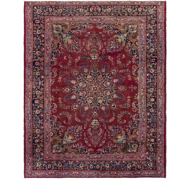 290cm x 360cm Mashad Persian Rug