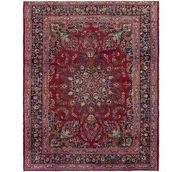 9' 6 x 11' 10 Mashad Persian Rug main image