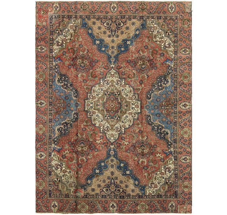 9' 2 x 12' 3 Tabriz Persian Rug