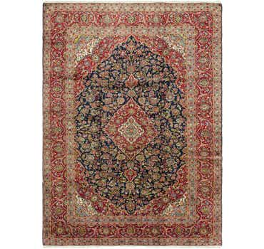 Image of 9' 8 x 13' 2 Kashan Persian Rug