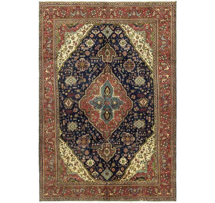 195cm x 287cm Tabriz Persian Rug