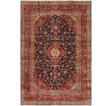 8' 2 x 12' 7 Kashan Persian Rug