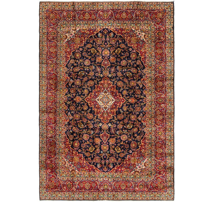 Image of 8' 2 x 12' 7 Kashan Persian Rug