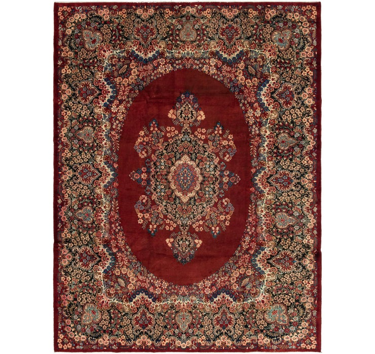 297cm x 390cm Yazd Persian Rug