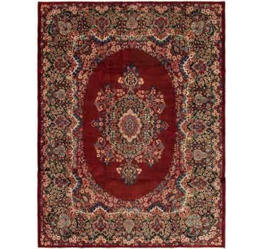 Image of 9' 9 x 12' 9 Yazd Persian Rug