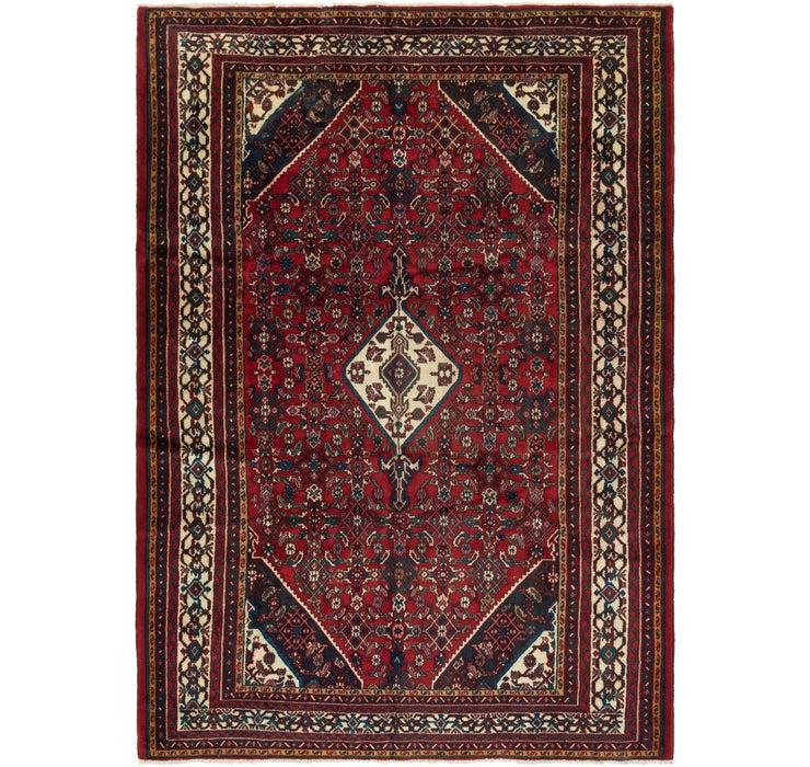 6' 10 x 9' 8 Hamedan Persian Rug