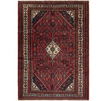6' 10 x 9' 8 Hamedan Persian Rug main image