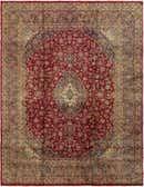 9' 4 x 12' 4 Mashad Persian Rug thumbnail