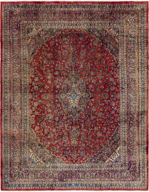9' 9 x 12' 6 Mashad Persian Rug main image