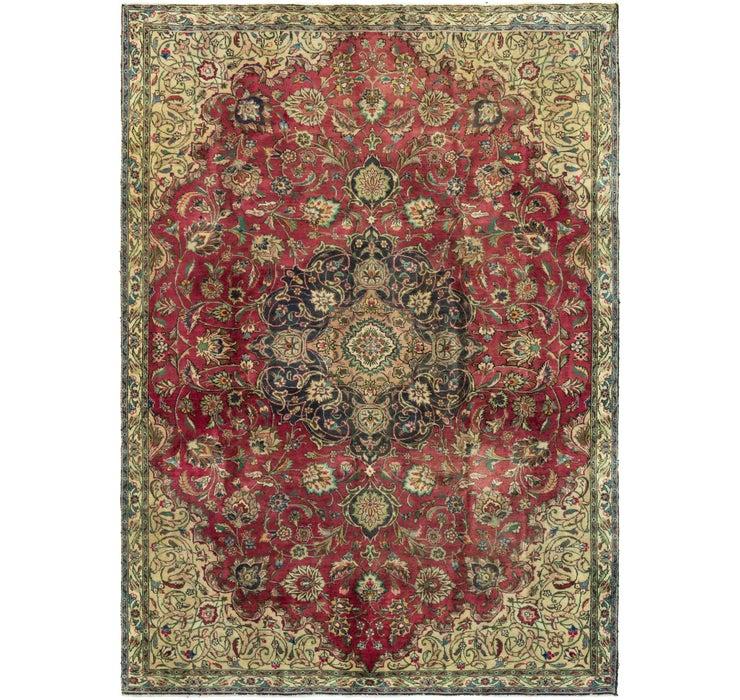 7' 3 x 10' 2 Tabriz Persian Rug
