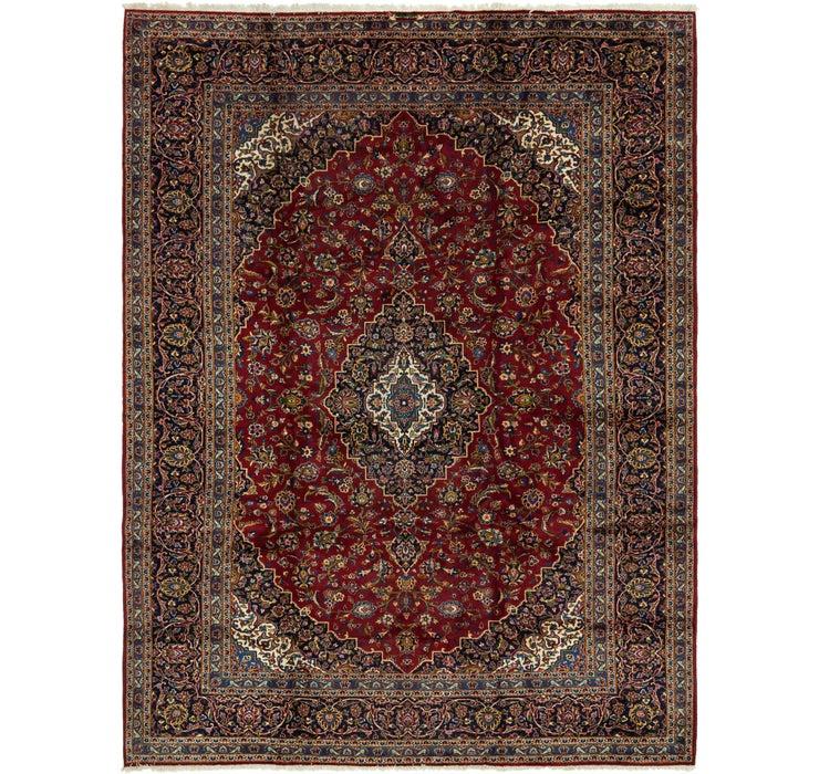9' 6 x 12' 8 Kashan Persian Rug