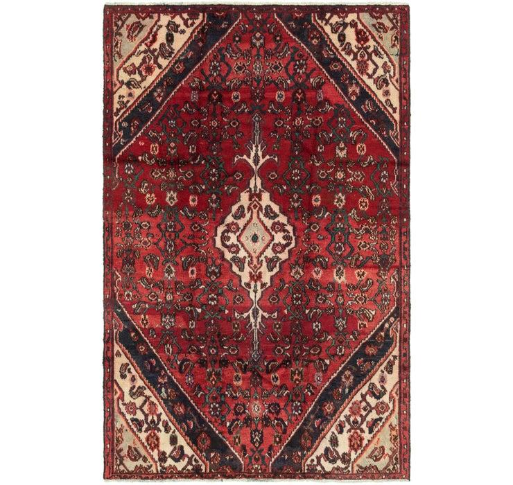 4' 10 x 7' 7 Hamedan Persian Rug