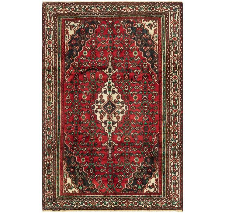 Image of 183cm x 285cm Hamedan Persian Rug