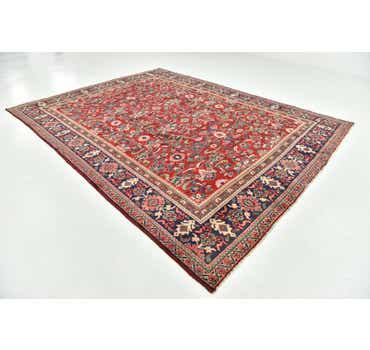 9' 5 x 12' 6 Meshkabad Persian Rug