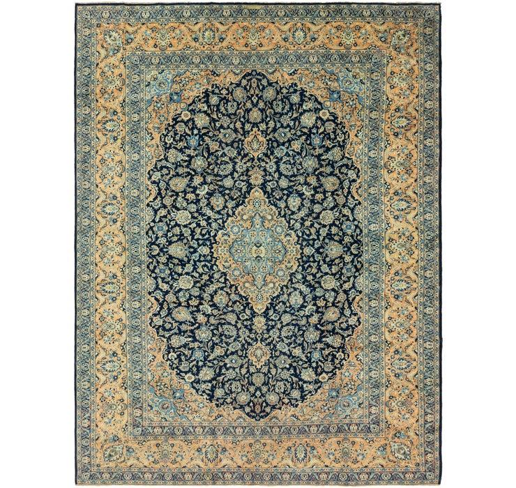 11' x 15' 3 Kashan Persian Rug