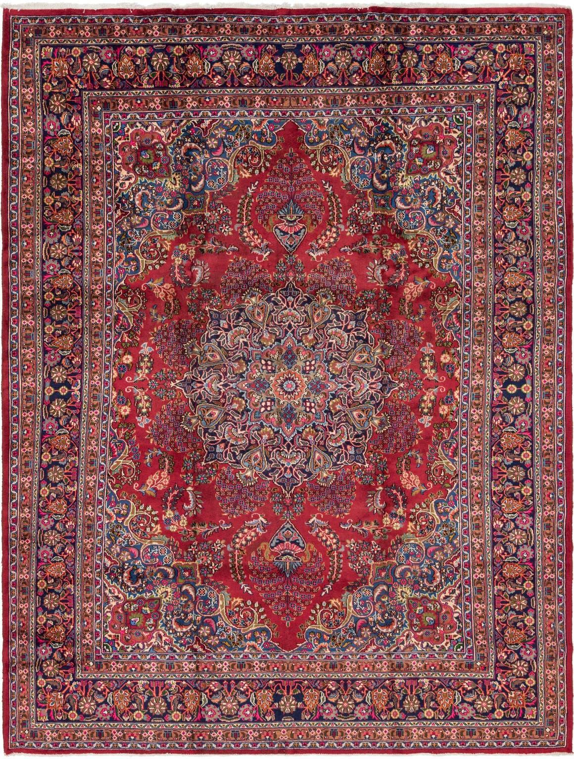 9' 9 x 12' 10 Mashad Persian Rug main image