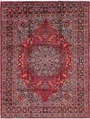 9' 9 x 12' 10 Mashad Persian Rug thumbnail